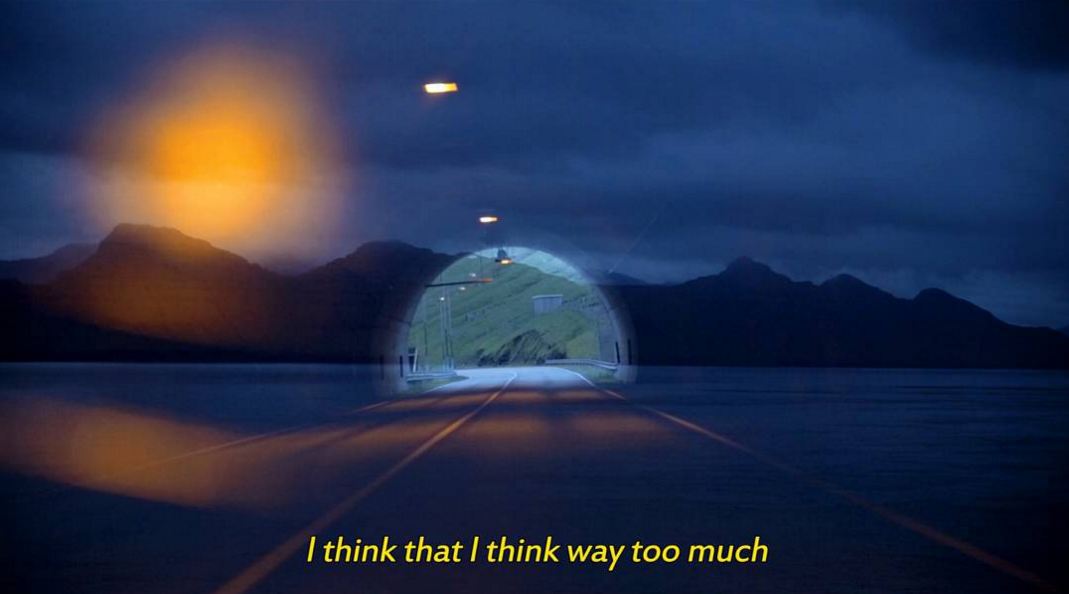 """A still from my documentary shot on the Faroe Islands, """"Driving To Thule"""""""